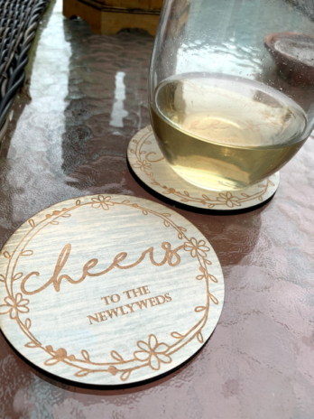 Cheers to the Newlyweds Coasters (4)
