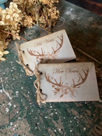 Vow Books ~ Antlers